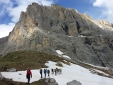 <h5>Sellatürme</h5><p>Felsausbildung an den Sellatürmen in den Dolomiten</p>