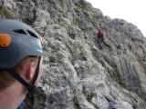 <h5>Fermeda</h5><p>Auf den steilen Normalwegen der Geislergruppe. Hier Große Fermeda.</p>