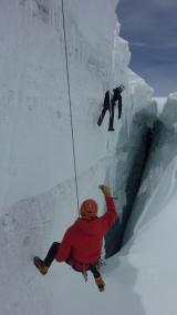 <h5>Gletscherspalte</h5><p>Rettung aus der Gletscherspalte.</p>